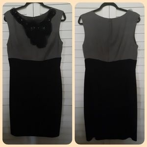Suzi Chin Black & Grey Dress~